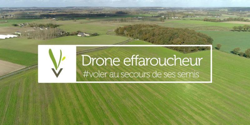 Drone effaroucheur : voler au secours de ses semis